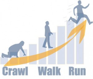 Crawl-Walk-Run